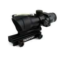 Wholesale Timberwolf ACOG Style X32 RifleScope with Green Optics Fiber and QD Mount