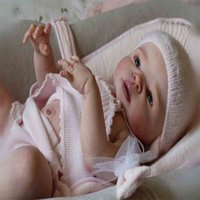 Wholesale 22inch Silicone Reborn Baby Doll Kits Soft Head Arms Legs Newborn Dolls Accessories Doll Bodies Parts