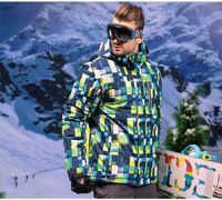 Wholesale 2016 Brand New Winter Ski Jacket Men Outdoor Thermal Waterproof Snowboard Jackets Climbing Snow Skiing Clothes Motorcycle Coat