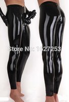 rubber pants - Latex Panties With Attached Condom Rubber Leggings Penis Sheath Rubber Pants Latex Panty Rubber Trousers Penis Condom