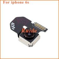 Wholesale For iPhone S S Plus Original Rear Back Camera Flex Cable Ribbon Replacement Repair HK post