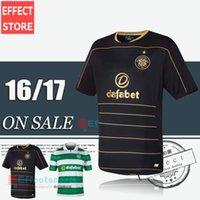 Calidad de Tailandia 2016 escocés club nuevo celta 16 17 jerseys de fútbol Uniformes casa Maillot de futbol camisa EMILIO VIRGILIO BROWN Fútbol