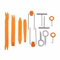 Wholesale 12PCS Auto Car Radio Panel Door Clip Panel Trim Dash Audio Removal Installer Pry Repair Tool Kit Set Portable Practical