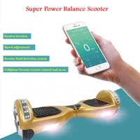 Wholesale self balancing two wheel inch scooters electric hoverboard with anti crash rubber strips samsung battery