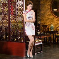 Wholesale Mulberry silk Chinese style Chinese style dress
