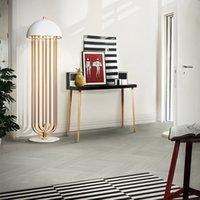 Wholesale VISDANFO delightfull turner Post modern creative arts study sitting room designer White Black Rose Gold G9 Floor Lamp