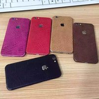 Wholesale New Full Body Screen Protector For iPhone plus S front back cover sticker