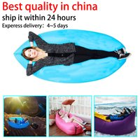 autumn weather - US stock Lamzac Hangout inflatable sleeping bag Lamzac lay bag fast10 Seconds Quick Open Sleeping Bed with pocket