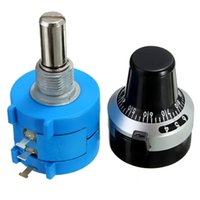 Wholesale S L K Ohm Adjustable Precision Multi Ring Potentiometer Rotary Knob New Arrival High Quality