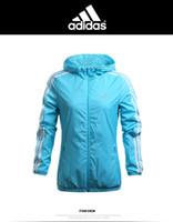 Wholesale Fashion New Brand Womens Hoodies Sports Bomber Jacket Woman Windproof Warm Cardigan Casual Thin Windbreaker Zipper Coats Ladies Tops