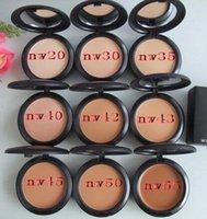 Wholesale New profession makeup high quality Studio Fix Powder Plus Foundation press make up face powder puffs g