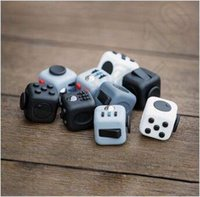 Wholesale In Stock Colors Novelty Fidget Cube Toy Stress Relief Focus For Adults and Children Decompression Anxiety Toys CCA5183