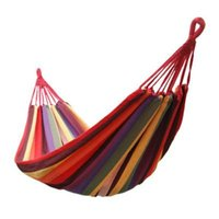 Wholesale Factory for outdoor canvas hammock hammock indoor leisure hammock swing send tying send hostel bag
