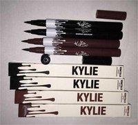 Wholesale Kylie Liquid Eyeliner Waterproof Black and brown Color Kylie Pencil Eyeliner Makeup tool by Kylie Jenner Cosmetics