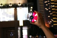 Wholesale New arrive For Poke Go Ball Power Bank mA Chager With LED Light For Poke Go mon AR Games