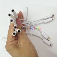apple market - Newest Sept In Market Smart Cell Phone Lightn Charger Slot Adapter Wired Connection mm Audio Line In Earphone Earphone Adapter