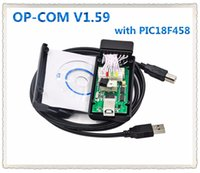 Wholesale OP COM OPCOM OPEL V1 with PIC18F458 OP COM obd2 opel scanner Micro chip diagnostic v2012 more stable than v1 Free Post