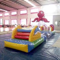 air tight games - AOQI factory price inflatable toy water park air tight water game water slide for summer in