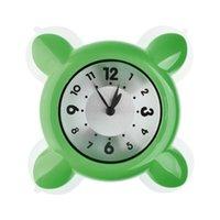 bath mini lights - Water Vapor Resistance Mini Clock Bath Shower Clock Strong Suction Glass Clock Watch