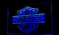 Wholesale Ls210 b Harley Davidson Motor Cycles Neon Light Sign jpg