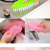 bathroom floor tile cleaner - New High Quality Flexible Household Washing Tools Cleaning Brusher For The Kitchen Tile Floor Bathroom