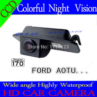 Wholesale CAR CCD REAR VIEW REVERSE BACKUP CHIP CAMERA FOR FORD MONDEO FIESTA KUGA FOCUS carriages S Max CHIA X