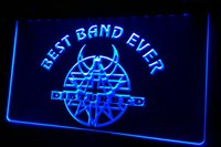 best disturbed - LS433 b Best Band Ever Disturbed Neon Light Sign jpg