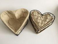 american metal supply - Garden Supplies Wedding gift bagLinen Baskets Flax Flower Bas with heart sharp ket Metal Flower Pots