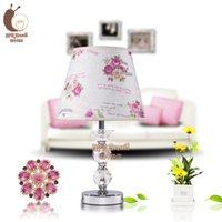 Wholesale crystal lamp Contemporary and contracted CRYSTAL TABLE LAMP FOR bedroom