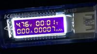 venda por atacado digital ammeter and voltmeter-OLED detector USB voltímetro amperímetro capacidade de energia testador de voltagem medidor de corrente baixo preço de boa qualidade melhor dos melhores