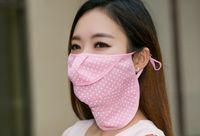 Wholesale Korean summer sun masks Neck UV protection masks dust masks