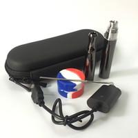 vapor pens - Double quartz coil wax concentrate vape pen vaporizer electronic cigarette puffco pro cloud vapor e cigarette pen e solid smoker