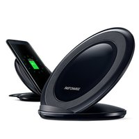 Wholesale For Samsung GALAXY S7 Fast Wireless Charger EP NG930 Real Fast Wireless Charging Dock Stand With Fan And Retail Box