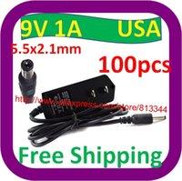 Wholesale 100 USA Plug V A DC AC Adapter Power Supply For Vtech Mobigo V Reader Battery Charger