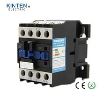 Wholesale AC Contactor Motor Starter Relay Poles NC VAC Coil Voltage AC A Rated Current DIN Rail Mount CJX2
