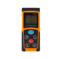 Wholesale New Arrival CP P m Digital Laser distance meter Rangefinder Range finder Tape measure Area volume tool Diastimeter