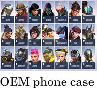 bastion game - For iPhone S Plus Sumsang inch Fashion Game Hard Phone Tracer Bastion Reaper Winston Mel iphone7 Case Cover Shell