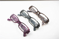 Wholesale Mens Womens Unisex Colors Small Square Frame Fashion Leopard Print Patterns Reading Glasses Readers