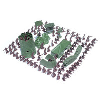 Wholesale Brand New Brown Toy Soldier Army Action Figures About Set For Children Set TY01045