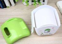 bathroom storage jars - Case Tissue Box Storage Phone Toilet Paper Holder Napkin House Cover Bathroom Accessories Green New