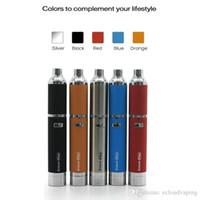 Wholesale 2016 Authentic Yocan Evolve Plus Wax penStarter Kit mah Battery Quartz Dual Coil Silicone Jar e cigarette vaporizer evolve plus atomizer