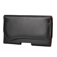 belt clip pouch - New black Smooth horizontal Wallet PU Leather Case Cover Pouch with belt clip for apple iphone samsung LG HTC