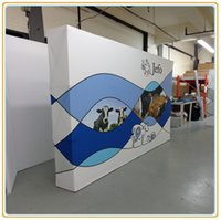 Wholesale Fabric Popup Display Pop up Stands Magnetic Pop up Display FT Straight