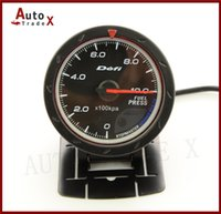 Wholesale quot MM DF Advance CR Gauge Meter Fuel Pressure Gauges BAR Black Face