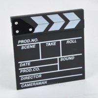 Wholesale Director Video Scene Clapperboard TV Movie Clapper Board Film Cut Prop Camera amp Photo Accessories F500DA1144 M1