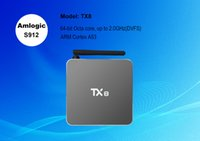 app store install - Android amlogic S912 TX8 android tv box install free play store app hd media android TV receiver
