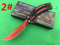model train - 2016 newer models butterfly benchmade Cross Fire training magic jilt knife Free swinging Knife hunting knife freeshipping