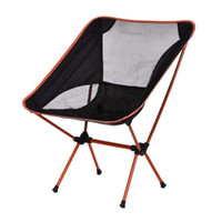 beach chairs backpack - Orange Chair Folding Seat Stool Fishing Camping Hiking Beach Backpack