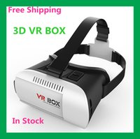 Wholesale Promotion Google cardboard HeadMount VR BOX Version VR Virtual Reality Glasses rift d movies Games for quot quot Smart Phone