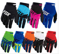 bamboo slips - 2016 fox gloves off road racing bike gloves road mountain bike non slip breathable motorcycle gloves